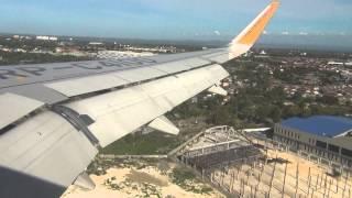 Landing Mactan Cebu International Airport Cebu Pacific A320