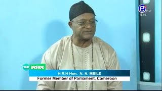 THE INSIDE (Guest: Hon N. MBILE/Former member of parliement)Sunday november 10th  2019 EQUINOXE TV