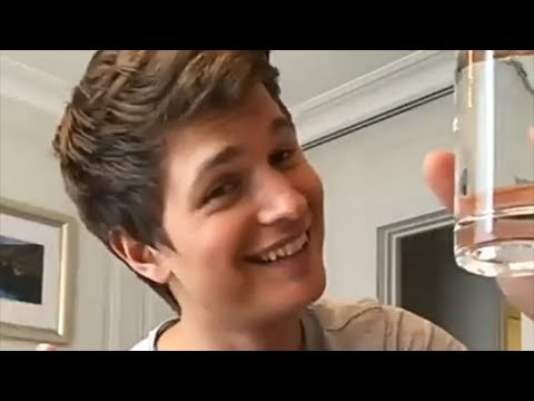 Ansel Elgort FUNNY MOMENTS (Baby Driver, The Fault in Our Stars)