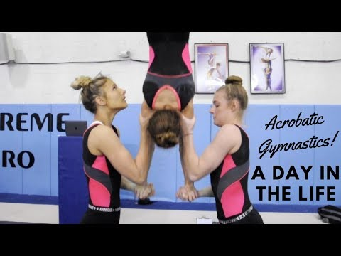 Acrobatic Gymnastics, A Life In The Day Of An Acrobat!