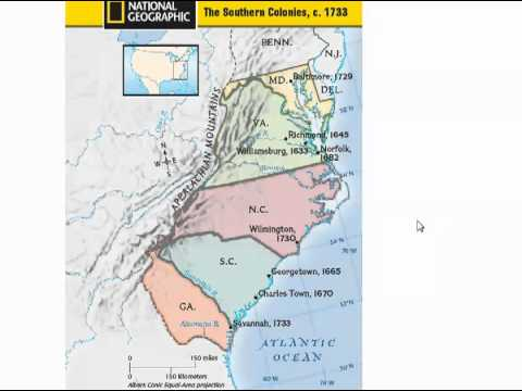 GPS SSUSH1a Virginia Company [Video 1]