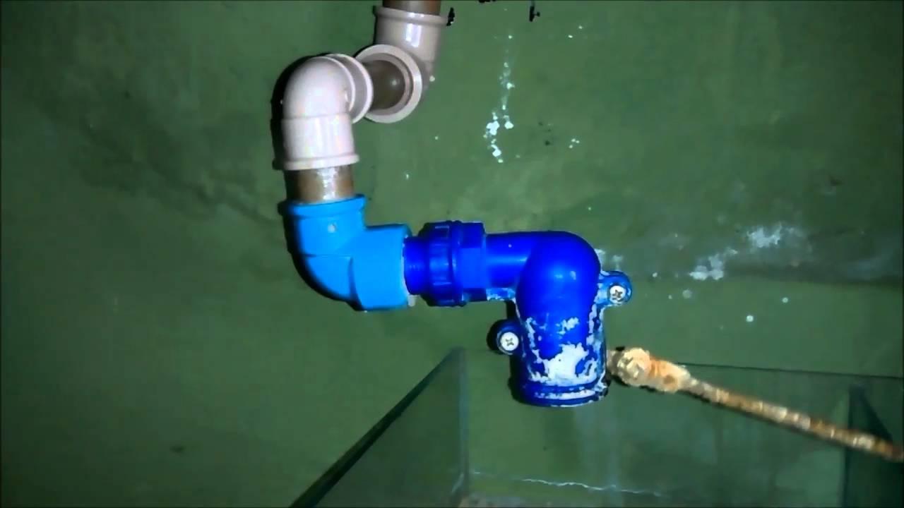 Sump sem furar o aquário - Encanamento!!!