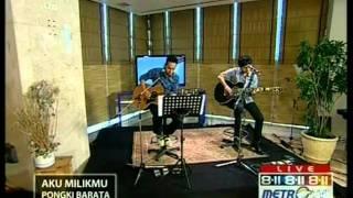 Pongki Barata live performed at 8-11 Show Chapter 1 (Courtesy MetroTV)