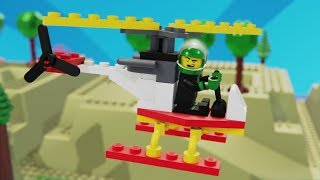 Lego NINJAGO Brick Building helicopter