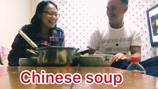 CHINESE FOOD REACTION by South African. My South Korea travel vlog -- jejudo trip