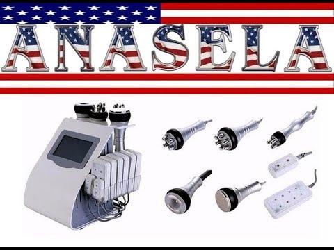 6 en 1.3 Radio Frecuencia, Lipodiodo Laser. Vacuum con RF