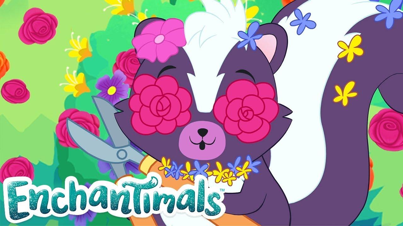 Enchantimals Россия  Старайтесь не смеяться  Смешанные мультфильмы  Видео для детей  0