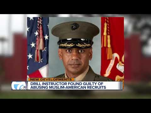 Drill instructor found guilty of abusing Muslim American recruits
