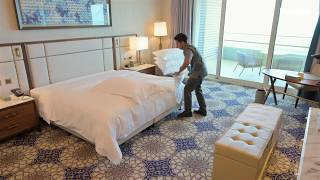 Housekeeping tips: How to make the perfect hotel bed