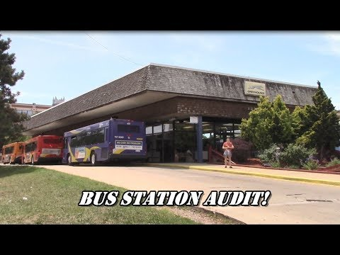 1st Amendment Audit: Greyhound Bus Station!