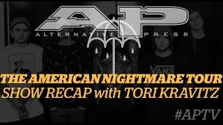 aptv recap the american nightmare tour ft beartooth and underoath