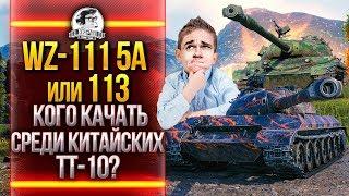 WZ-111 5A или 113 - КОГО КАЧАТЬ СРЕДИ КИТАЙСКИХ ТТ-10?