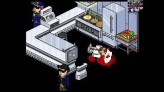 Habbo serie loquendo ep2: Desastre en el Restaurante