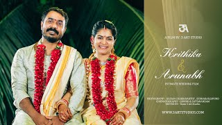 Krithika ~ Arunabh Wedding Film 2020 |Cinematic wedding highlights  | South Indian Wedding.