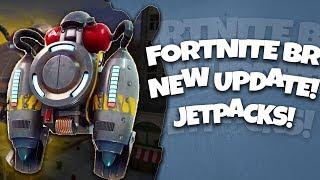 JET PACKS Fortnite Battle Royale HUGE UPDATE!