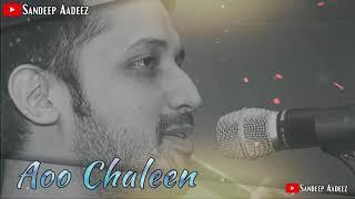 Mere Humrahi Suno Ao Chaleen Chand K Paar | Atif Aslam Sad Status |
