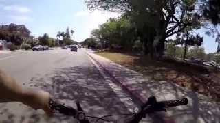 Gopro - Bike Tour - Hotel Del Coronado - Coronado Island - Skate Park 1080 Dpi Wide