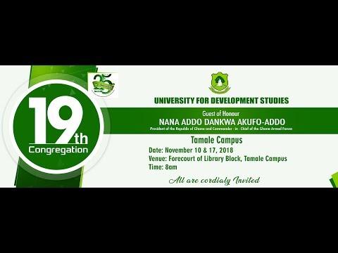 19th Congregation - University for Development Studies