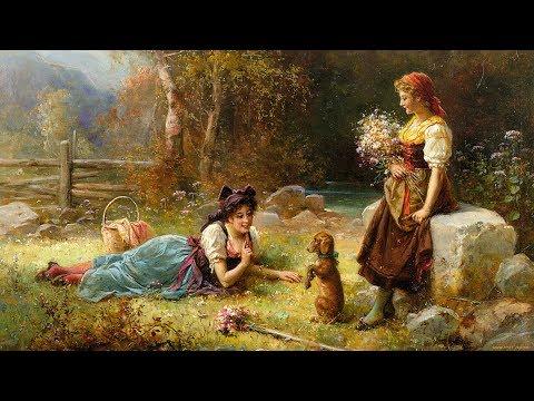 Danielle Licari -Ne me quitte pas ✽ Hans Zatzka (1859-1945) Austrian painter