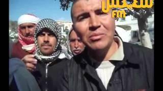 Mahdia-Eleveurs de bétail protestant devant le siège du gouvernorat