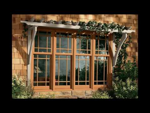 Wood Frame Windows and Doors for Home Designs