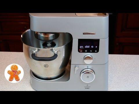 Новая Кухонная Машина KENWOOD COOKING CHEF KCC9040S ✧ Обзор