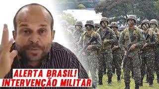 ALERTA DE INTERVENÇÃO MILITAR: Vidente Carlinhos Acaba de Prever MILITARISMO no BRASIL, Intervenção!