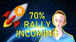BITCOIN TO RALLY 70% NEXT WEEK!? $ZIL $ZRX $DCT $HT