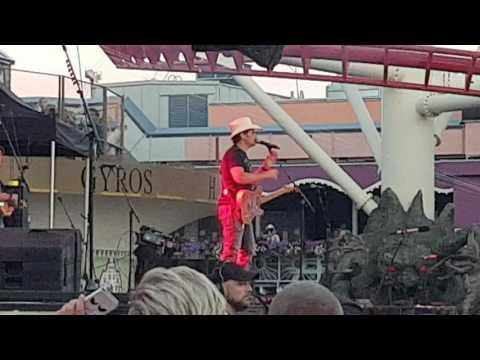 Brad Paisley - Today - Gröna Lund Theme Park, Stockholm, Sweden 07/25/2017