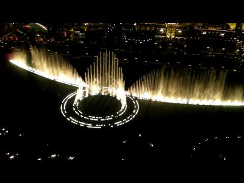 """""""The Star Spangled Banner """" -  Whitney Houston - The Fountains At Bellagio"""