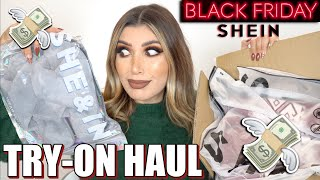 TRY-ON HAUL SHEIN BLACK FRIDAY 2020💸 MelissaTani