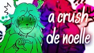 【Deltarune - ComicBR】 •A crush de Noelle•
