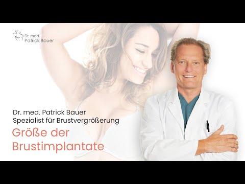 Wie groß sollten Ihre Brustimplantate sein?