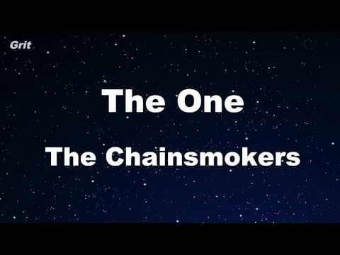 The One - The Chainsmokers Karaoke 【With Guide Melody】 Instrumental
