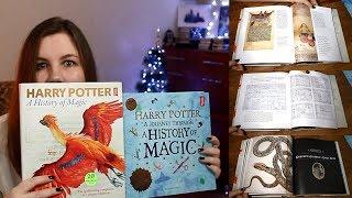 Гарри Поттер: История Магии - книги посвященные выставке  в Британской библиотеке. Обзор