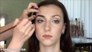 Как красить брови помадкой Anastasia Beverly Hills
