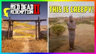 This Ghost Town Reveals The CREEPIEST Thing Ever Seen In Red Dead Redemption 2! (RDR2 Secrets)