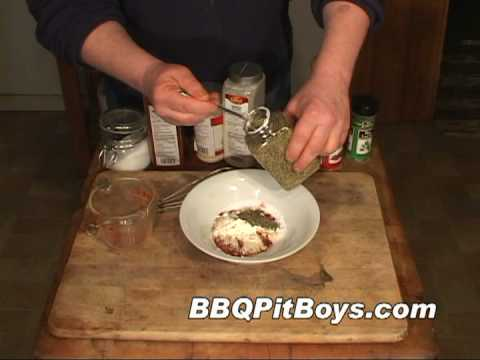 Cajun Rub recipe by the BBQ Pit Boys - YouTube