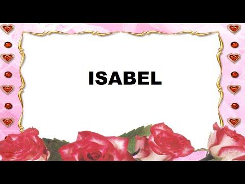 Isabel Significado e Origem do Nome