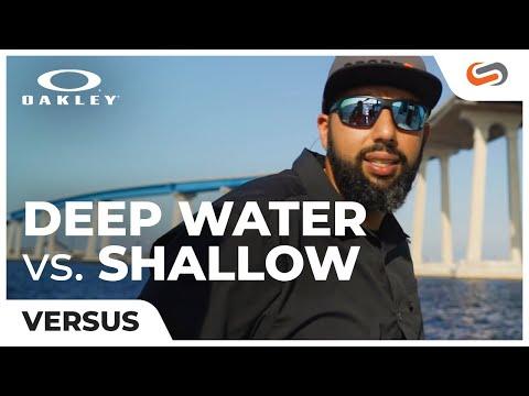 Oakley Deep Water vs Shallow Water Lenses