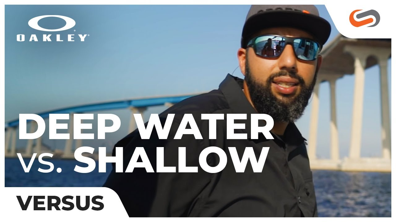 2537958fd7b Oakley Deep Water vs Shallow Water Lenses - YouTube