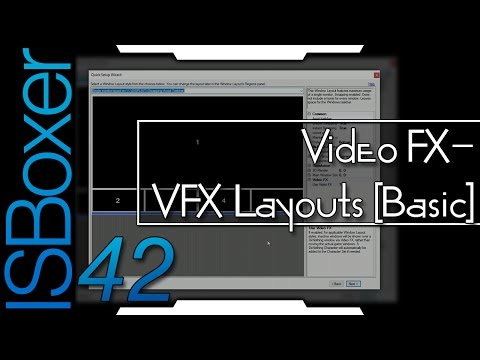 ISBoxer 42 — Video FX — VFX Layouts [Basic]