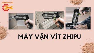Máy Vặn Vít Mini Dùng Pin ZHIPU