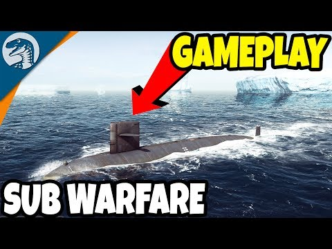 SUBMARINE WARFARE SIMULATOR   Cold Waters Gameplay & Features