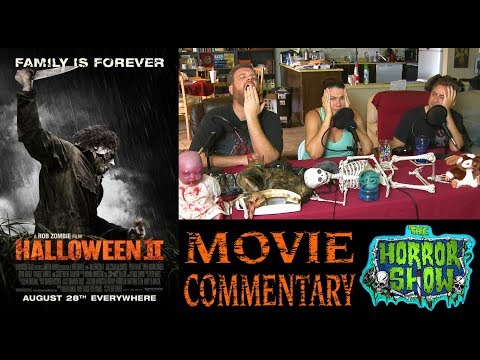 """Halloween II"" 2009 Rob Zombie Horror Movie Commentary featuring The Death Twitch - The Horror Show"