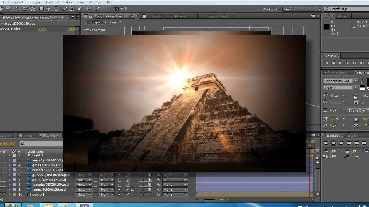 optical flares not showing in after effects cs6