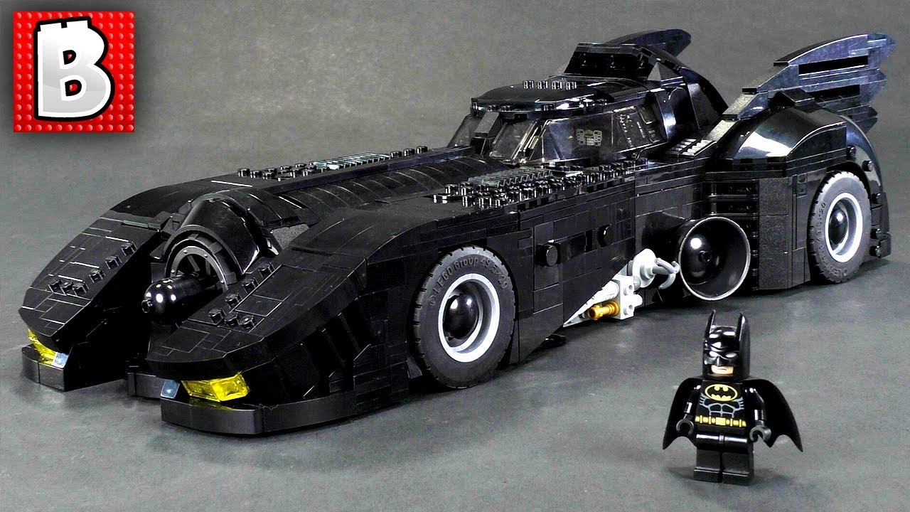ultimate lego batmobile moc 1989 batman youtube. Black Bedroom Furniture Sets. Home Design Ideas