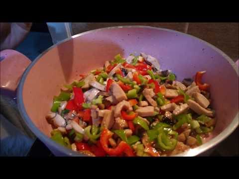 Mantarlı Tavuk Sote Tarifi- Enfes Tavuk Sote Nasıl Yapılır ?