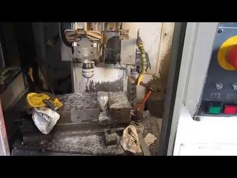 Hướng dẫn vận hành máy phay CNC