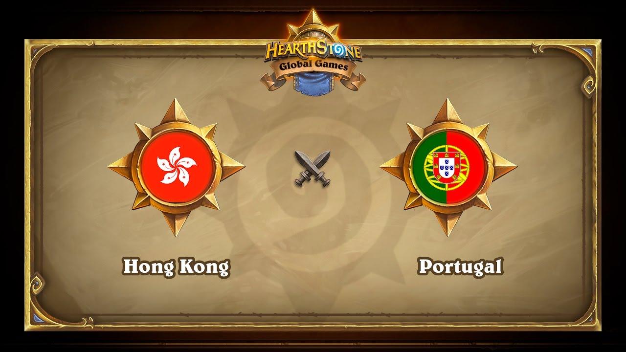 Hong Kong vs Portugal, Hearthstone Global Games Group Stage